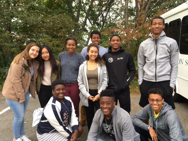 10 New Hampton School students attended the Students of Color Conference at Holderness School.
