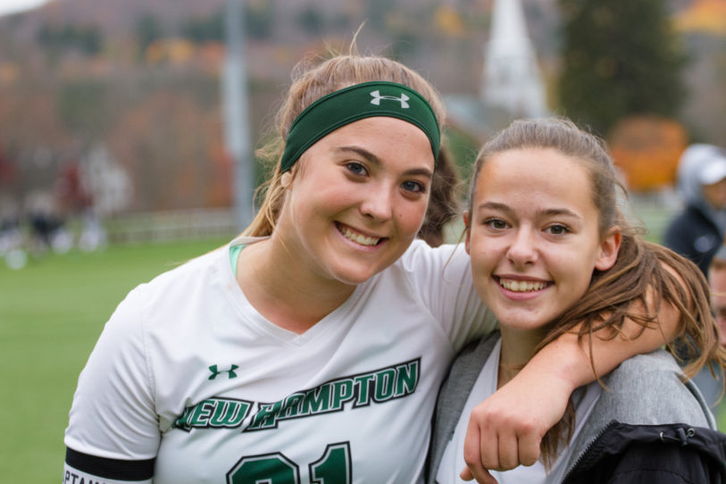 Maryellen '19 models what it means to Be a Husky.