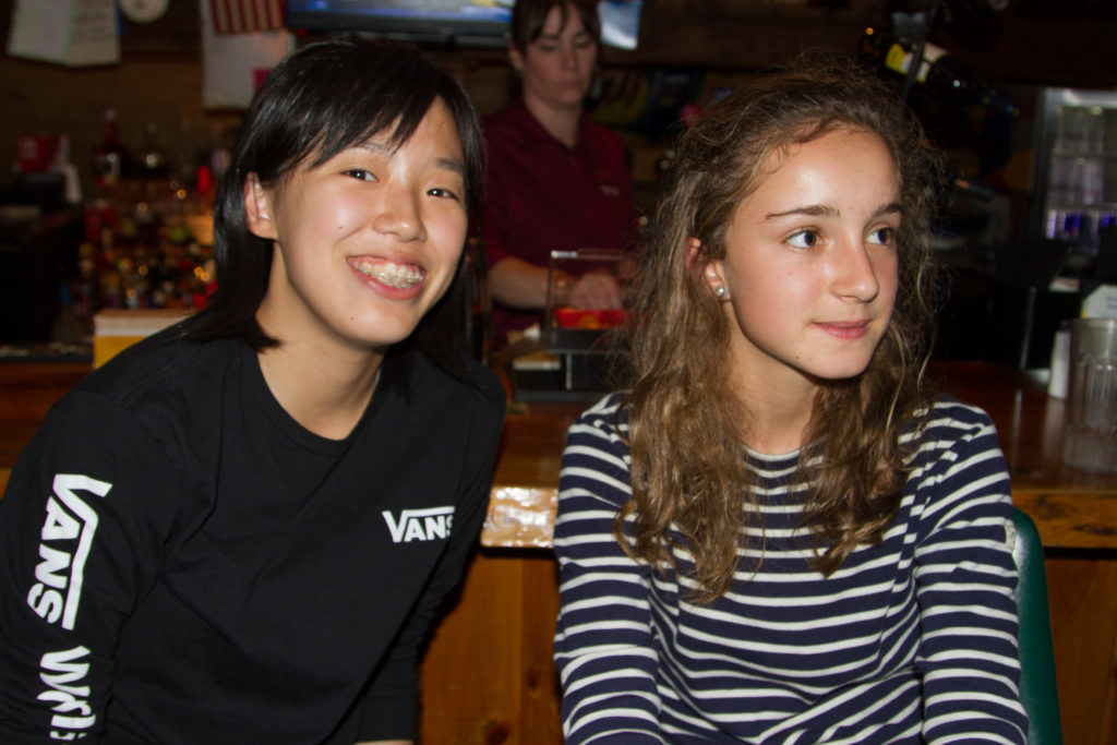International students had a special evening off campus as part of their orientation.
