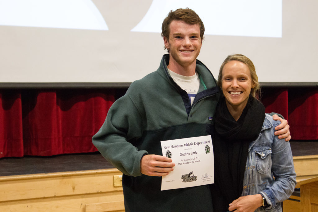 Guthrie Little '17 is recognized for his leadership and consistency on the Varsity Soccer Team.