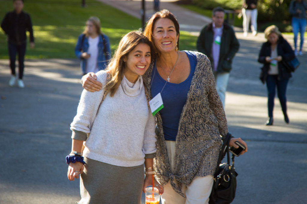 Parents and family members joined us on campus for Family Weekend in mid-October.
