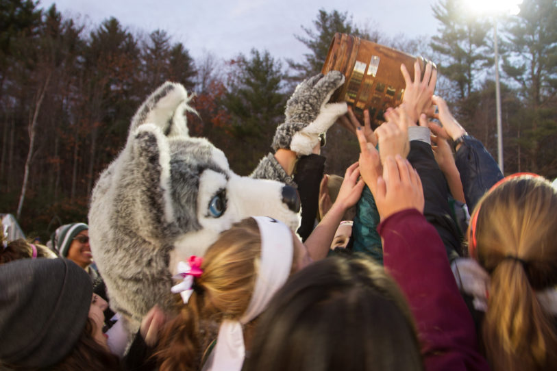 The Powder Keg tradition between New Hampton and Tilton School dates back to 1985.