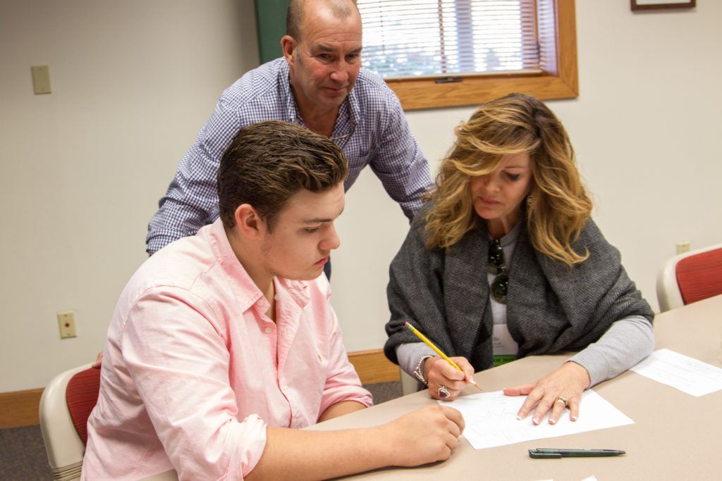 Parents, teachers, advisors, friends and relatives all play a role in the college process.