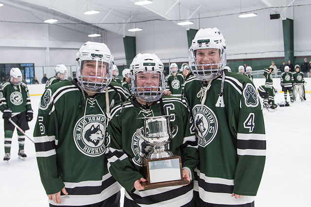 In 2017 the Women's Varsity Hockey Team one their first ever NEPSAC Championship.