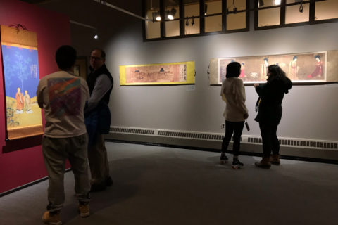 Galletly Gallery featured an exhibit curated by student, Dorothy Li.
