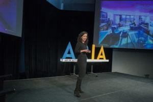 Chris Fridlington '19 was one of two high-school students to attend the ARiA Summit at MIT in January 2018.