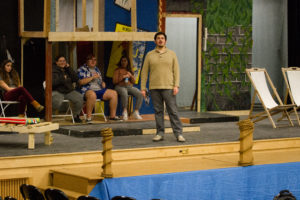 "New Hampton Students Rehearse ""12th Night"" by William Shakespeare"