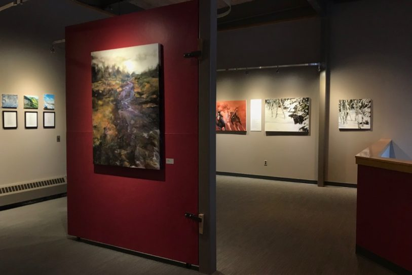 Where Beauty Dwells is on display in Galletly Gallery Through March 9.