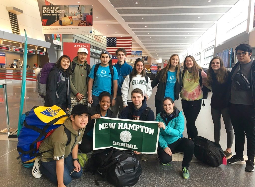 Ecology Project is enroute to Costa Rica to explore the local ecology and learn about the environment.