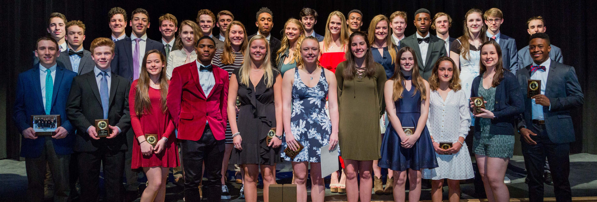 Student-Athletes at NHS Winter Sports Awards