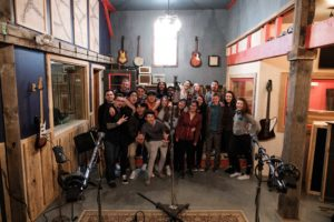 New Hampton School Contemporary Performance Lab students at The Noise Floor in Dover, NH.