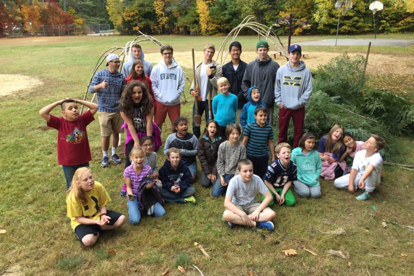 Environmental Art classes partner with New Hampton Community School