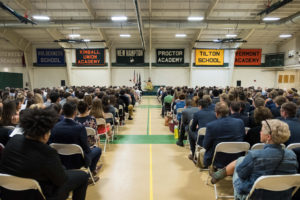 Students, faculty and family joined together on May 24 to honor the achievements of the class of 2018.