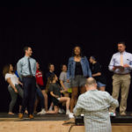 Legally Blonde JR. rehearsal