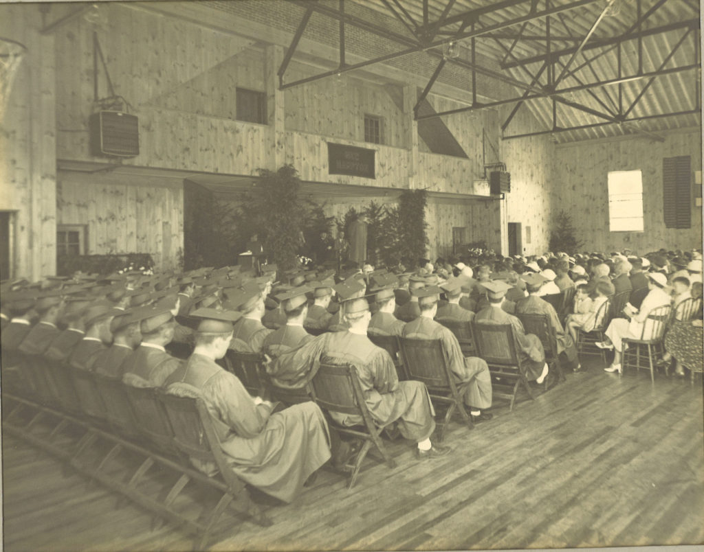 New Hampton School Commencement in the 1920s