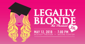 Legally Blonde JR. poster.