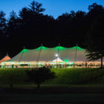 Reunion Weekend's highlight is the celebration under the tent on Kennedy Field.