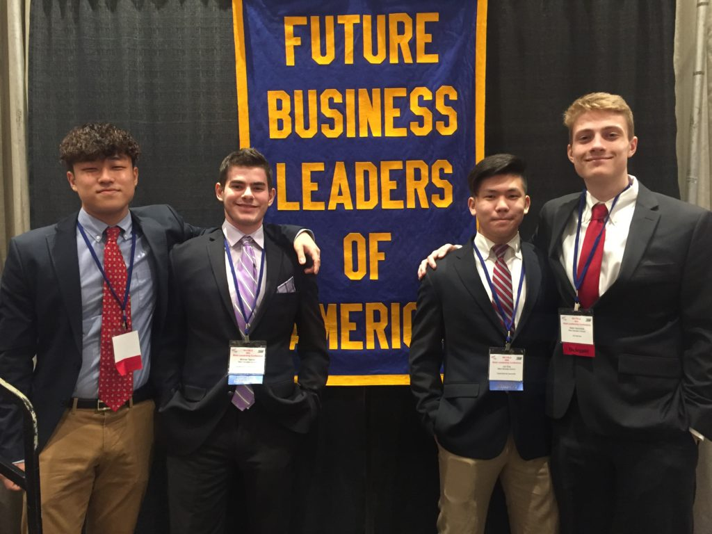 Students at FBLA conference