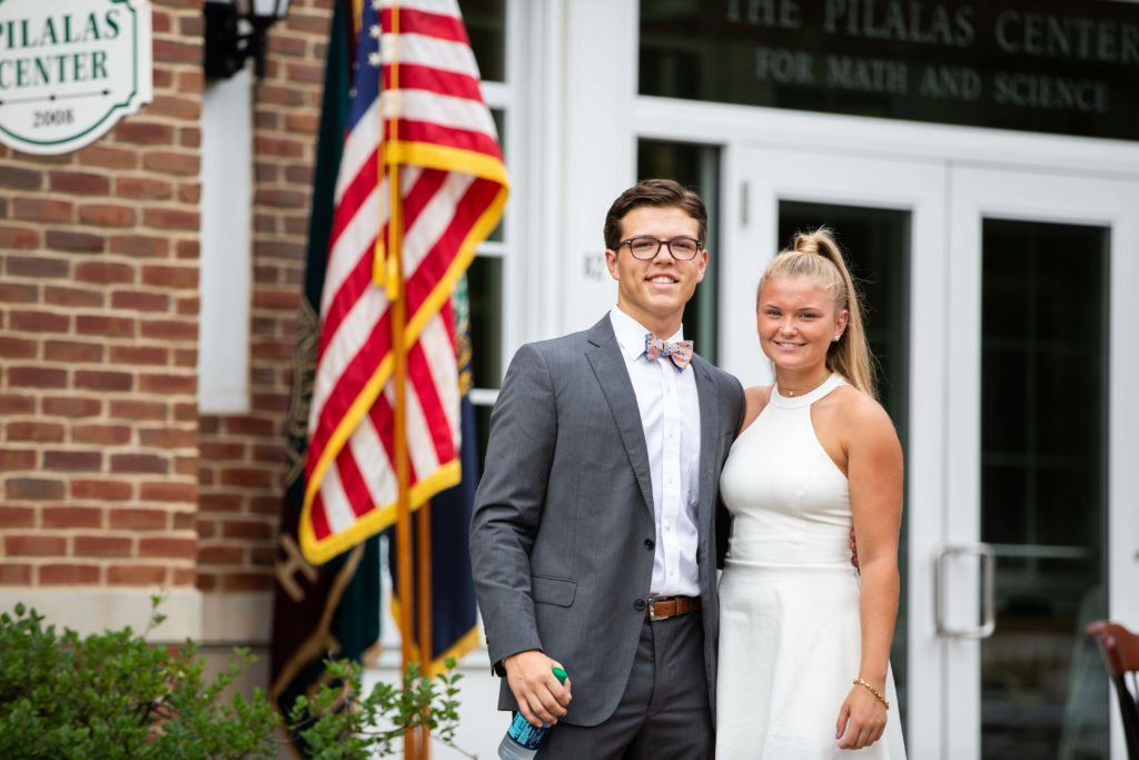 New Hampton School Co-Presidents at Convocation