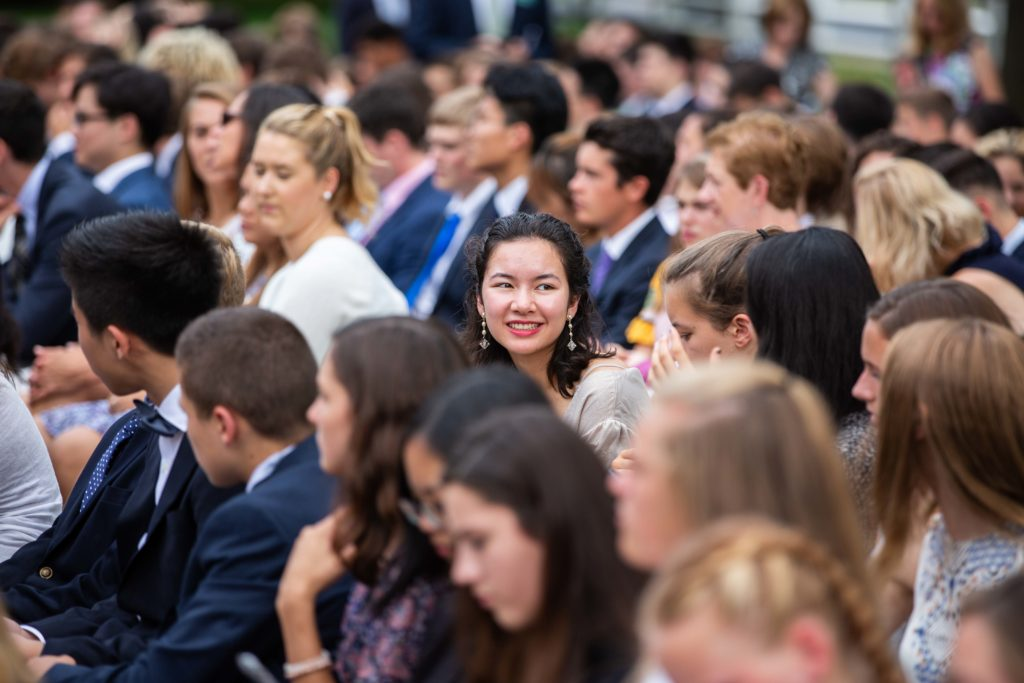 New Hampton School students and faculty at Convocation.