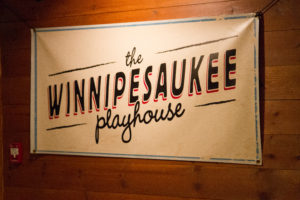 Winnipesauke Playhouse Sign