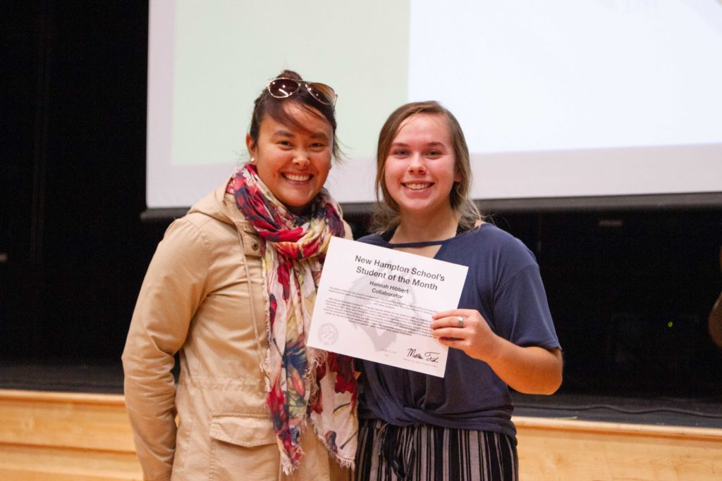 October Spotlights: Collaboration Student of the Month