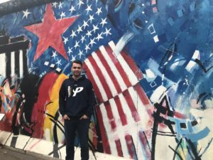 Alumni Spotlight features Riley Stone '16, an alumnus currently in Germany.