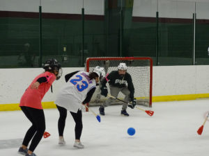 Winter Carnival Broom Ball in Jacobson Arena