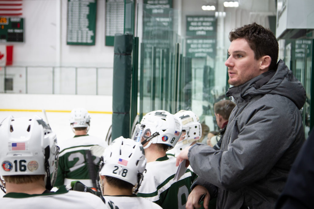 Connor Gorman and Joe Marsh will lead the Huskies for the 2019-2020 Men's Hockey season.