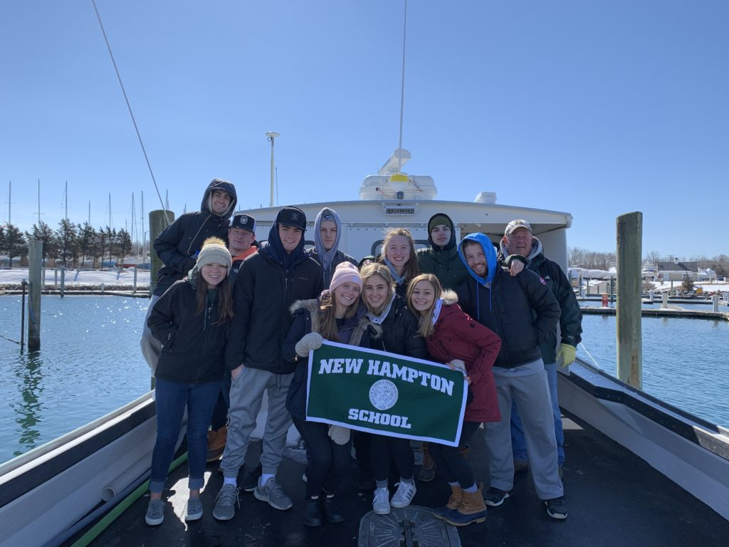 Project Week 2019 Waterways Lobstering