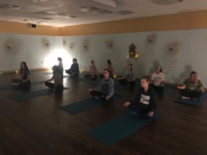 New Hampton Project Week Conscious Living Yoga