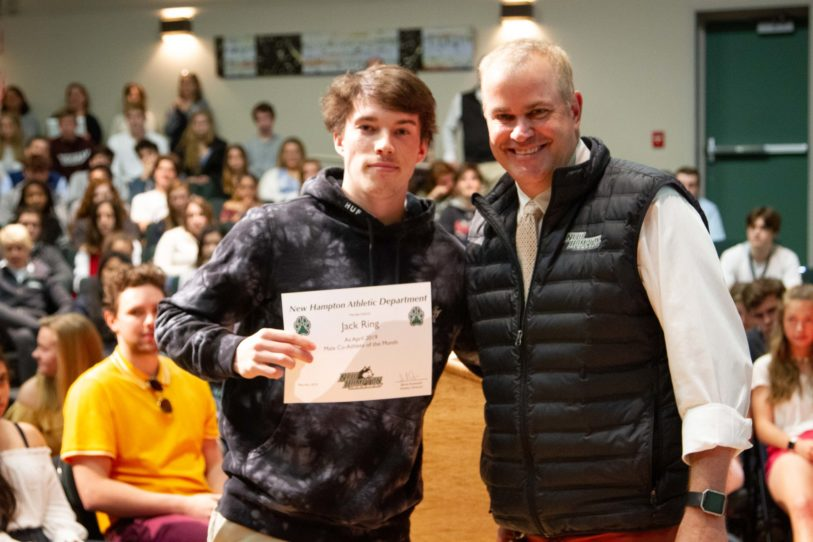 NHS April co-athlete of the month Jack