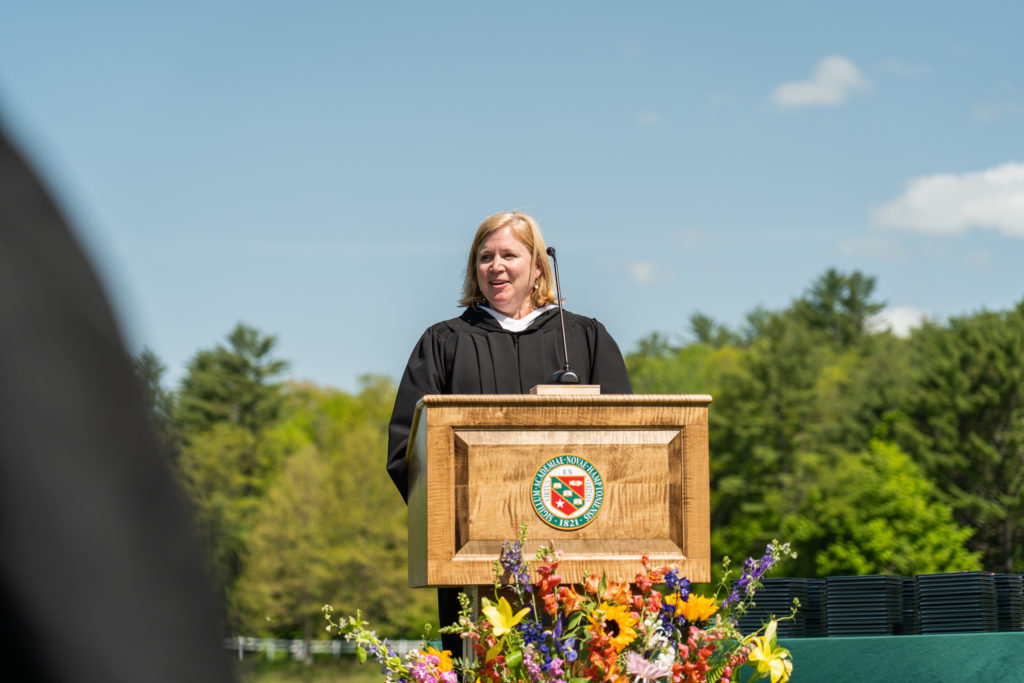 New Hampton Commencement Jennifer Berry