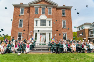 New Hampton School Celebrated its 198th Commencement in front of Meservey Hall.