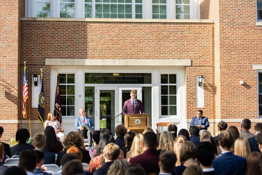 Convocation includes a featured speaker each year to help set the tone and theme for the community.