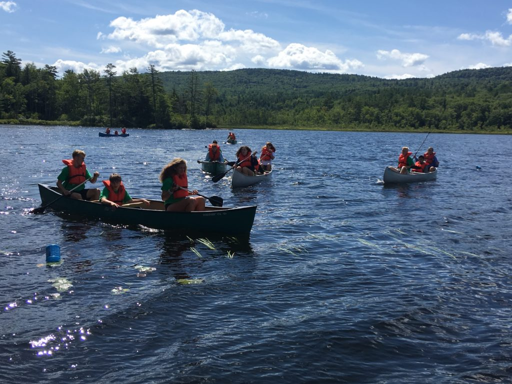 Advisory groups do some paddling during Husky Weekend