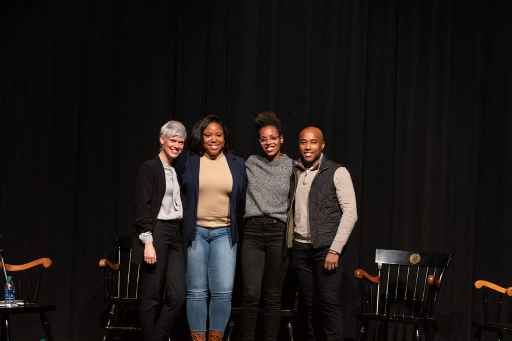 Intersectionality was the theme for discussion at the most recent alumni panel in February 2020.