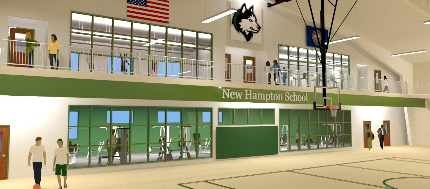 Wellness Center Exterior New Hampton School