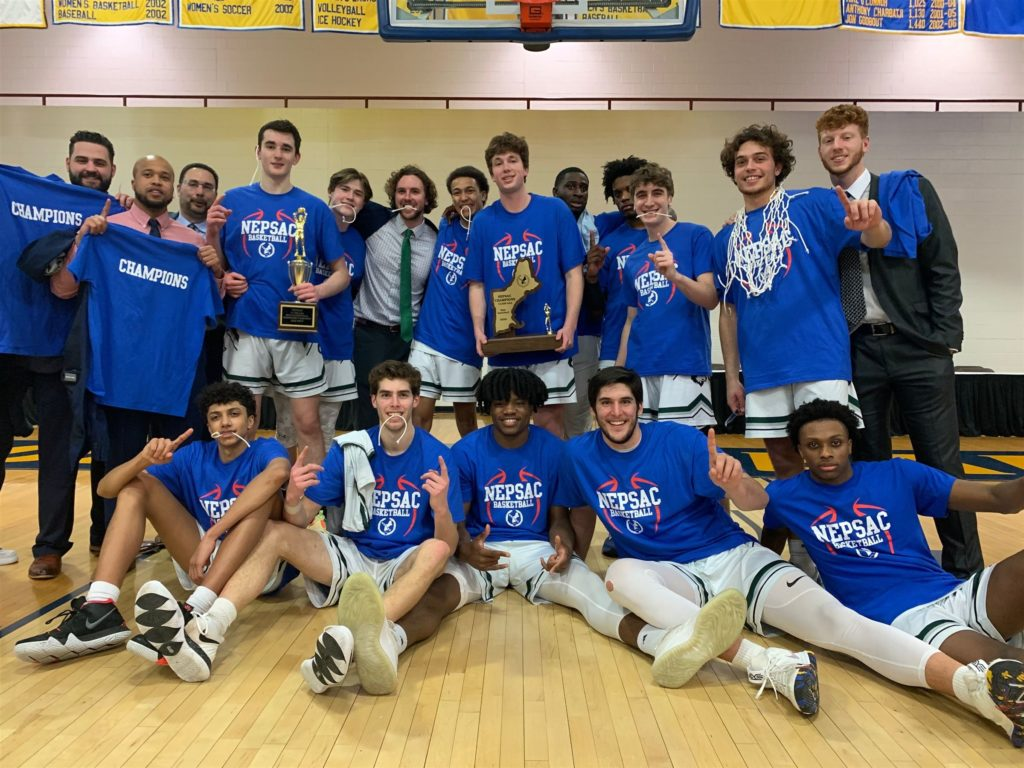 Basketball History was made by this year's New Hampton School Men's Basketball team.