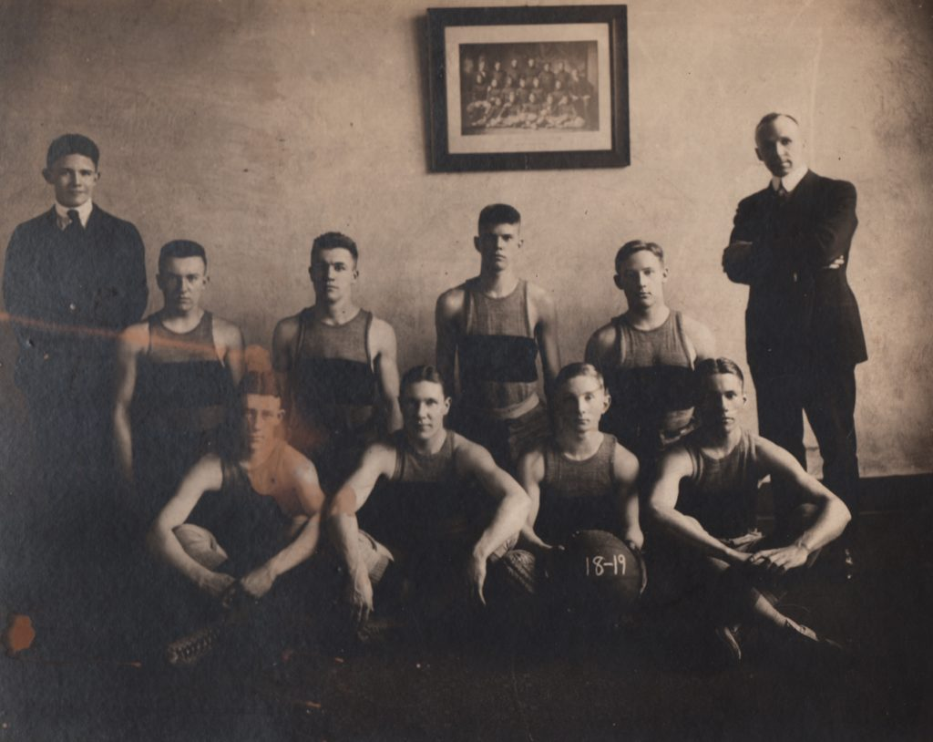 Prior to the arrival of spanish influenza, the school was able to restart the football program.