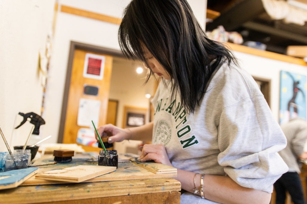 Scholastic Art Awards of New Hampshire excepts many forms of artistic mediums.