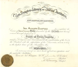 Commencement Diploma