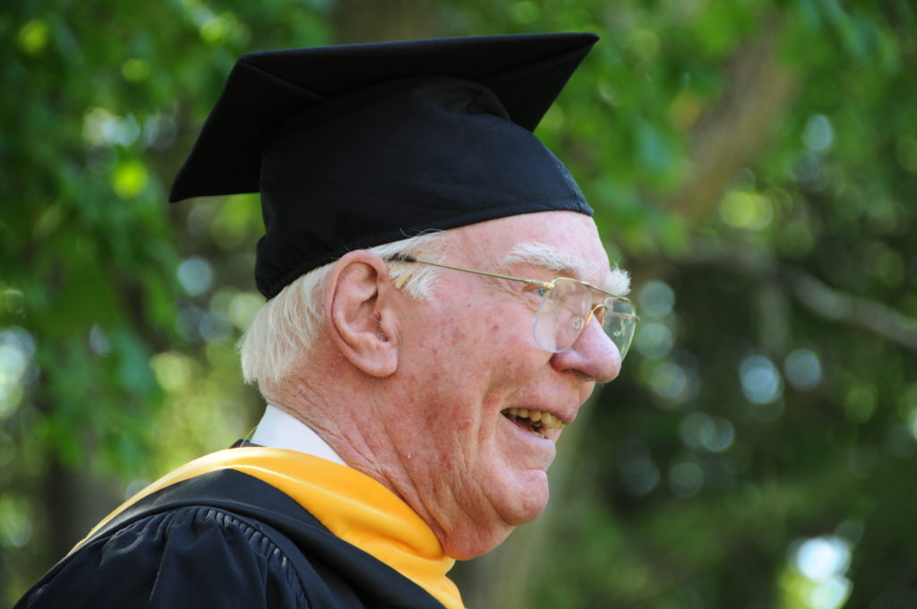 Bob was the honored speaker at the School's commencement exercises in 2010.